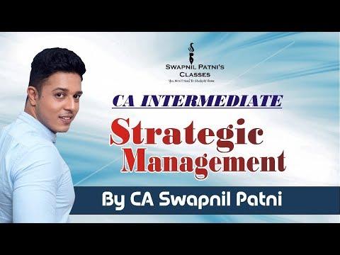 CA INTERMEDIATE SM Lecture 1(For Nov 2018) By  CA Swapnil Patni