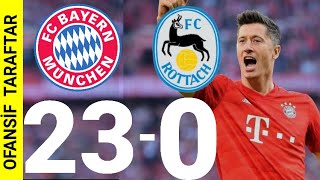 23-0 Bayern Münih AFFETMİYOR!!