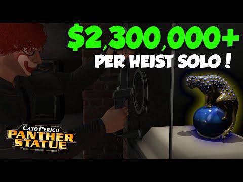 Cayo Perico Heist PANTHER Statue Walkthrough! | GTA Online Heist Guide