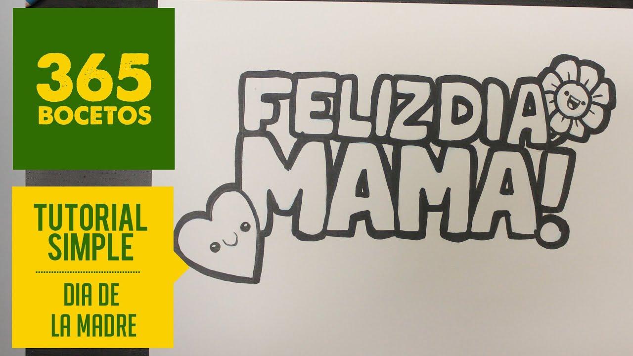Como Dibujar El Mejor Regalo Para El Dia De La Madre Dibujo Paso