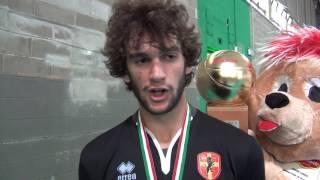 28-05-2017: #delmontejunior - Alberto Saibene, MVP, commenta la vittoria di Treviso