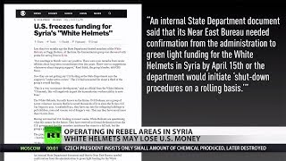 White Helmets: State Department freezes funding [2018 Report]