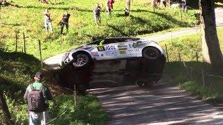 Rallye du Mont Blanc 2018 - Crashs and Mistakes