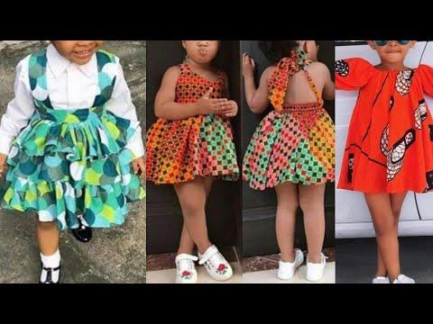 Latest Ankara Styles : Ankara Styles for Kids ( Girls) || African Fashion Styles || Aso ebi Styles