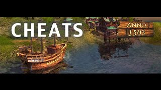 How to cheat in Anno 1503 Tutorial