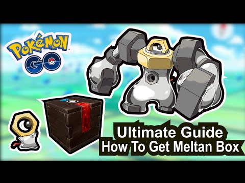 How To Get Meltan Mystery Box Pokemon GO Ultimate Guide 2021