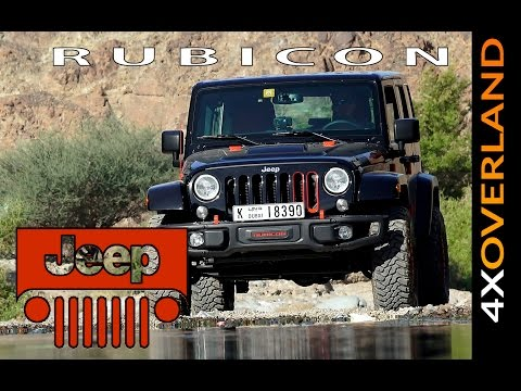 JEEP RUBICON LEVEL-RED REVIEW. Part-1. Into the Desert.