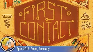 First Contact — game overview at SPIEL '18