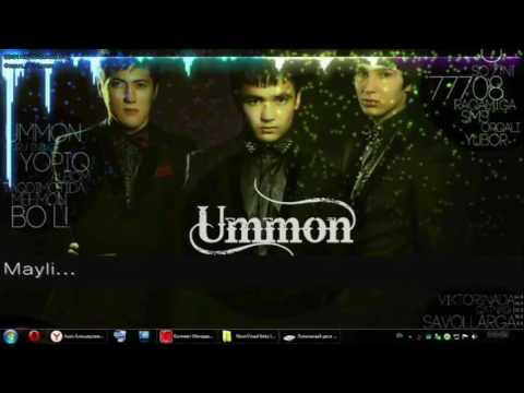 UMMON-MAYLI...( MAN QILGAN VERSIYA )