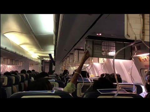 Air pressure mix-up causes mass bleeding on Indian flight
