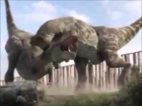 T-Rex vs Spinosaurus -...