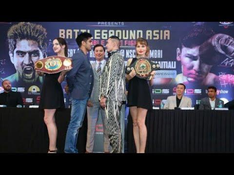 Vijender Singh vs Zulpikar : IOS Boxing press conference to announce Battleground Asia