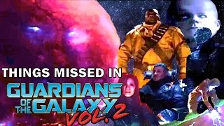 Things Missed In Guardians Of The Galaxy Volume 2