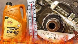 PMO 10W60 Racing Jak skutecznie olej chroni silnik? 100°C