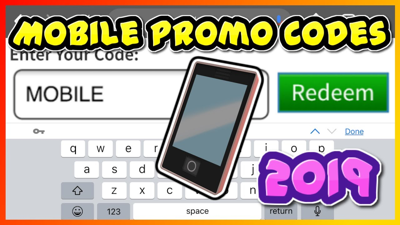 All Roblox Promo Codes Mobiletablet - roblox redeem codes for tablets
