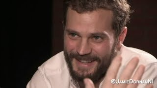 Jamie Dornan talks about his wife, Millie, & their family life.