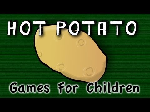 Hot Potato game for children
