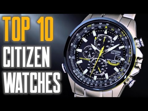 Top 10 Best Citizen Watches For Men To Buy [2019]