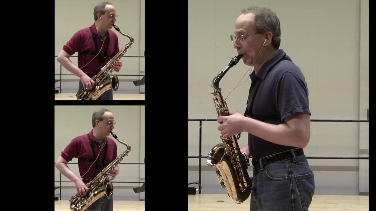 Medieval music on saxophone:  Guillaume Dufay – Adieu ces bons vins de Lannoys