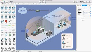 How to Draw a Wireless Network Diagram