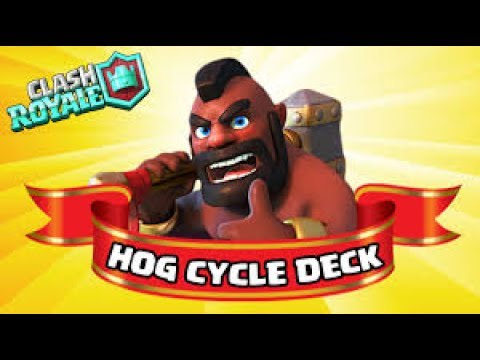 Clash Royale / Hog ladder deck!