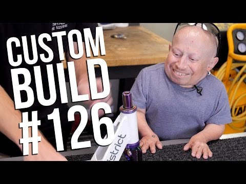 Custom Build #126 (ft. Verne Troyer and Rocco Piazza) │ The Vault Pro Scooters
