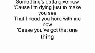 MattyBRaps - One Thing Lyrics - One Direction (MattyBRaps Cover)