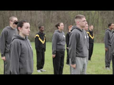 Performing the Army Physical Fitness Test (APFT)