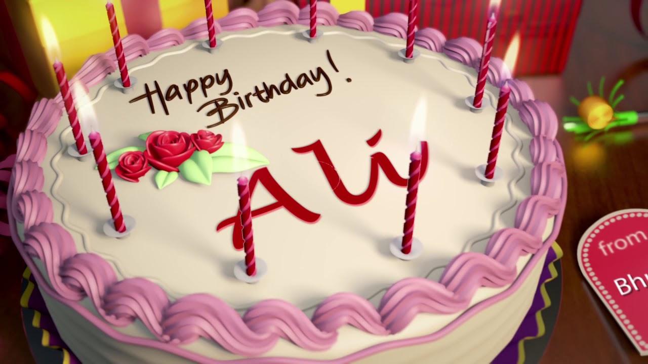 Happy Birthday Ali Youtube