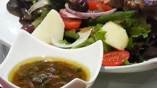 Easy Italian Salad Dressing Recipe - Mark's Cuisine #55