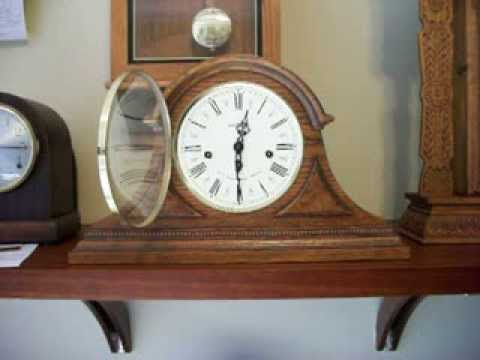 Howard miller mantel clock barrister