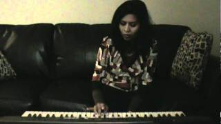 """Thumak chalat Ramchandra"" Bhajan -  by Abha on keyboard"