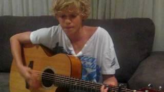 Dream Catch Me Newton Faulkner Cover- Cody Simpson