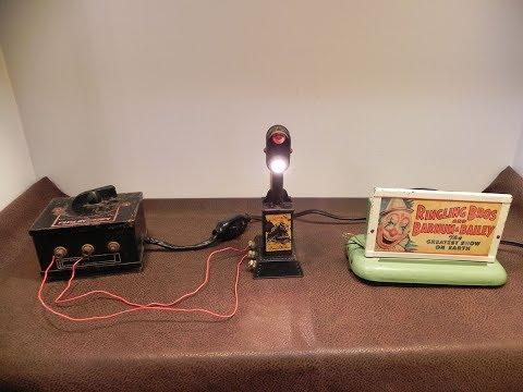 Wehavalot Vintage Marx Toys & American Flyer O Gauge Model Railroad Accessories Lot