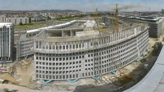 Premium time-lapse film for building sites