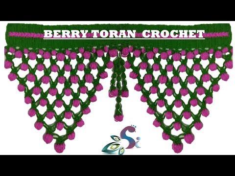 BERRY TORAN | CROCHET | HINDI & ENGLISH #17