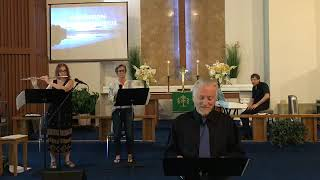 Music Filled Combined Service on Sunday, August 16, 2020