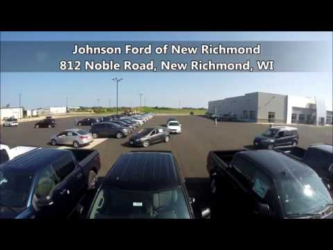Johnson Ford New Richmond >> Lot Video Of Johnson Ford On Noble Road New Richmond Wi