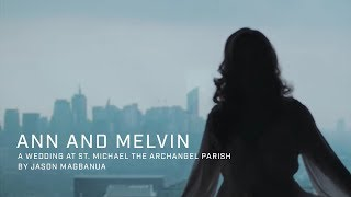Ann and Melvin: A Wedding at St. Michael the Archangel Parish