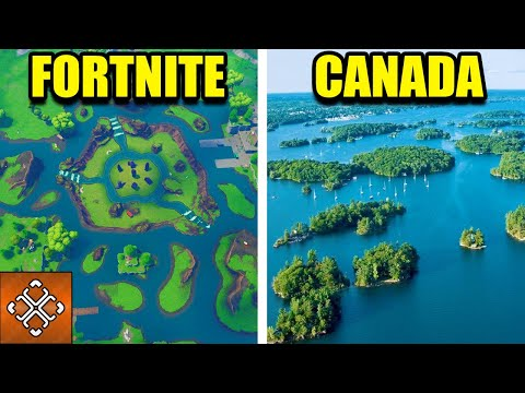 8 Fortnite Locations In Real Life