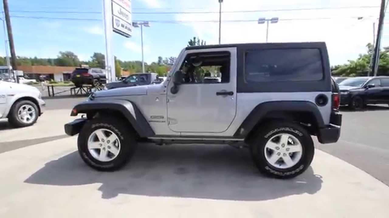 2015 jeep wrangler sport | billet silver metallic | fl642312 | mt