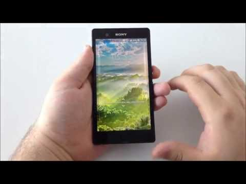 Sony Xperia Z Android 4.2.2 Jelly Bean Hands-On