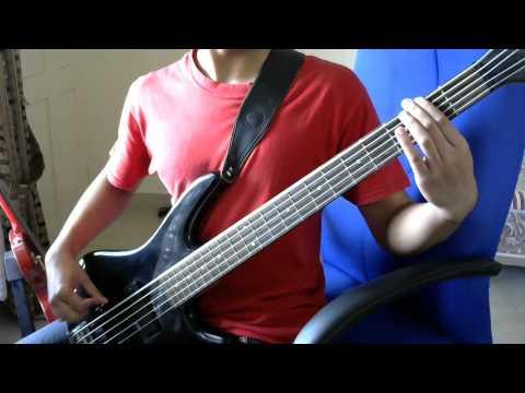 UVERworld- D-tecnolife [Bass Cover]