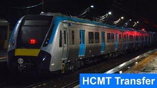 Metro Trains High Capacity Metro Train HCMT Transfer - Melbourne's newest train