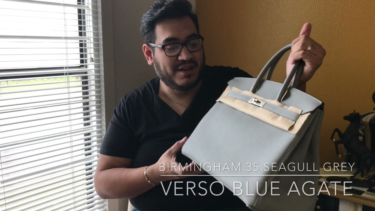 Unboxing Louis Vuitton   Hermès Birkin a0a7732df1a7f
