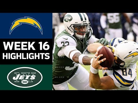Chargers vs. Jets | NFL Week 16 Game Highlights