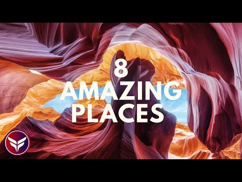 8 Amazing Places You Won't Believe Exist On Earth | Fun Facts | 2018 #S01