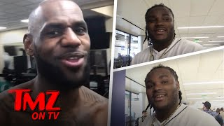 Tee Grizzley says after Lebron James posted a video of himself rapp...