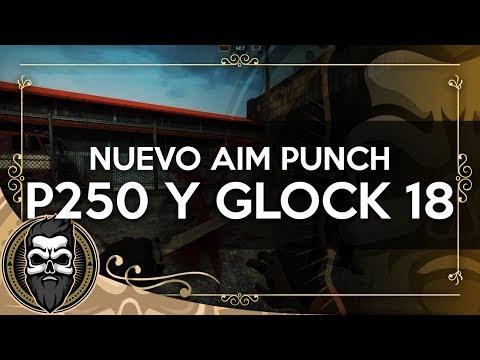 NUEVO AIM PUNCH, P250 Y GLOCK!! (Act 13/09/17) | CS:GO | Muit0