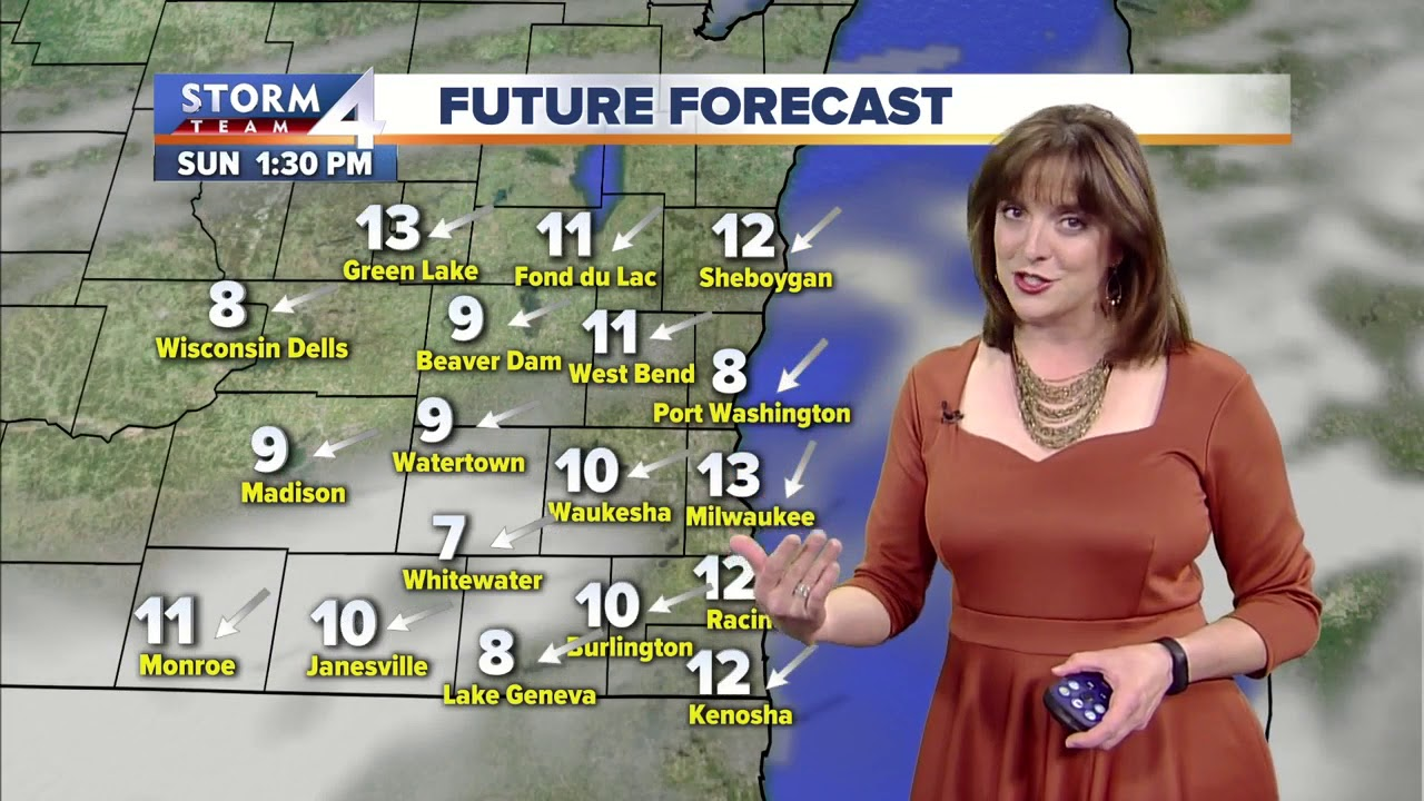 Jesse Ritka's Saturday 5pm Forecast